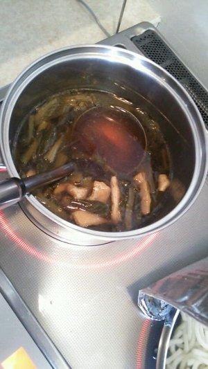 小松菜のスープがガチで美味い