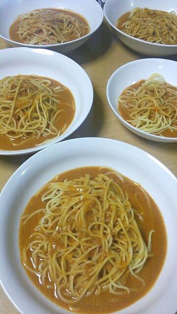 スープストックを利用してオマール海老のパスタを作るズル技