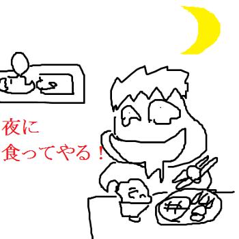 【離乳食ダイエット】子供が寝た後にガッツリ食べてしまうタイプは危険