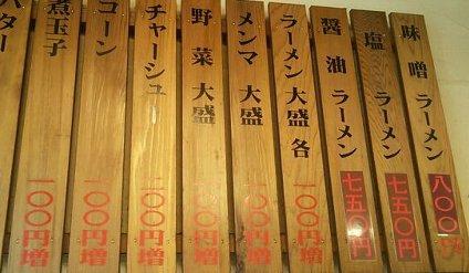 高田馬場えぞ菊のラーメンがほとんどもやしでイイゾ!