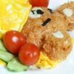 子供を喜ばすリラックマのオムライスレシピ
