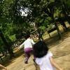 子供と公園巡りでカロリー消費