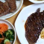 【93キロからのダイエット252日目】夜は肉攻め&野菜攻め 夜の炭水化物は控える