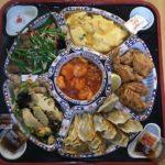 【93キロからのダイエット273日目】餃子の王将のオードブルプレートのボリュームがすごい