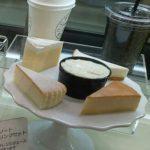 5種類の食べ比べチーズケーキセットが美味しい【チーズガーデン】