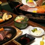竹峰に宿泊した結果2 夕食と朝食の紹介 和牛ステーキ懐石コース