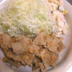 【レシピ】シャリアピンソース風にんにくロース焼き定食【自己流】