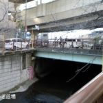 【目黒川】沿いを全部歩く「天空庭園」や「暗渠」を見てきた【桜】
