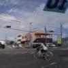 日本では斜め横断するバカが急増中 事故の瞬間?動画 お年寄り自転車