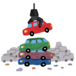 【盗難】自動車のワイパーに中古車チラシがあると窃盗団の可能性