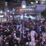 【都民】渋谷で集合 深夜に出歩いてしまう【上野アメ横】警察出動