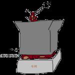 【牛丼】テイクアウトの容器から汁がこぼれているのが苦手説【濡れた手】
